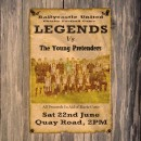 Legends Charity Game – Saturday 2pm