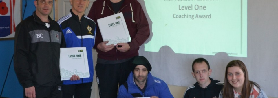 Academy coaches receive IFA qualification