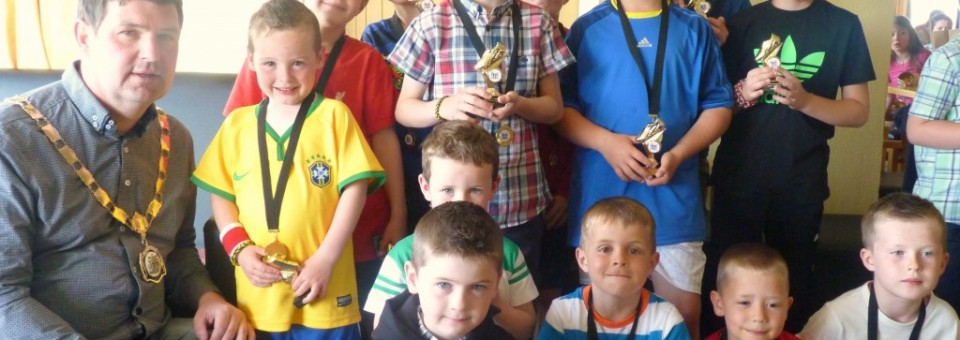 Ballycastle United Youth Soccer Presentation Night