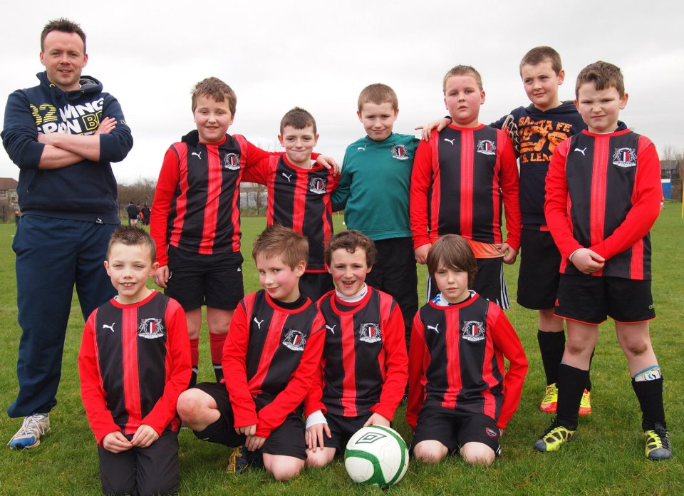 u8's ballycastle vs ballymoney