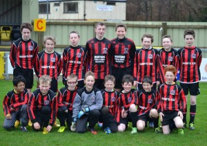 U13 team who beat institute att he weekend